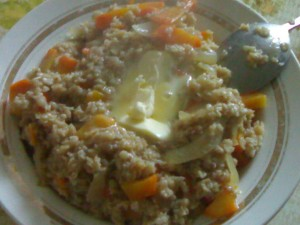 Как готовить овсяную кашу с морковью на обед