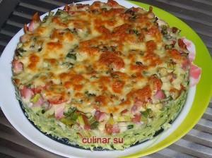 Пицца кабачковая