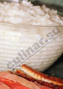 Как рис для суши приготовить