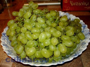Как приготовить виноград