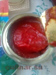 Гуляш – томат понадобиться 1 столовая ложка