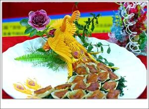 украшать блюда блюд из птицы и дичи