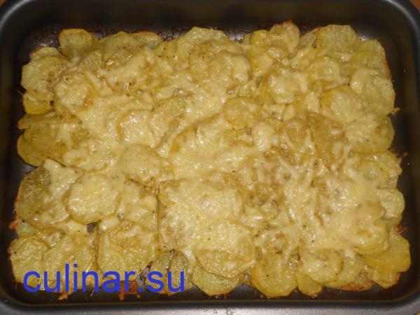 Вкусная картошка в духовке с сыром