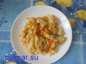 Как приготовить с куриным филе вкусный лёгкий плов