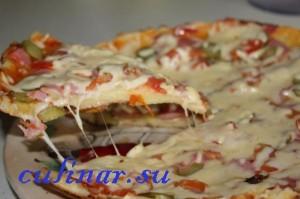 Пицца за 10 минут или что предложить гостям на дружеской посиделке