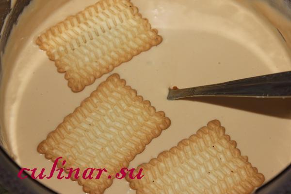 Рецепт тортика из печенья