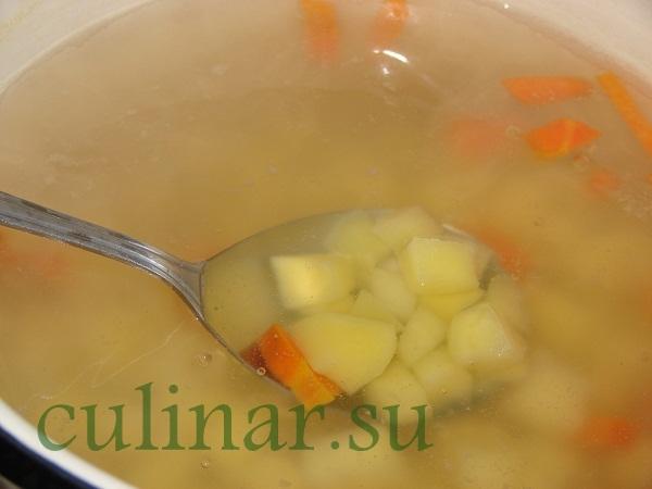 Яичный суп с картофелем