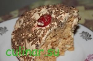 Как сделать песочный торт муравейник