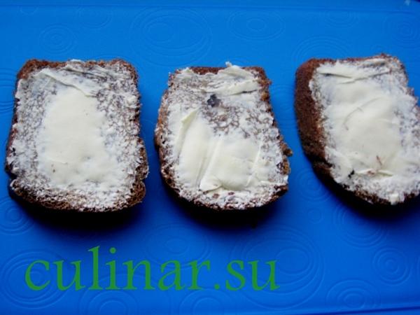 Как приготовить новогодние бутерброды с сельдью на 2013 год