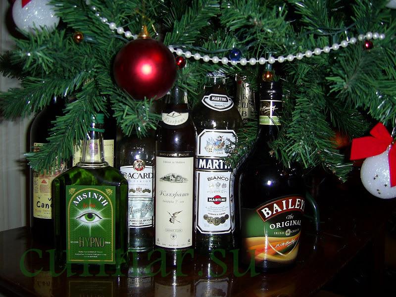 Пьяная елка на новый год 2013