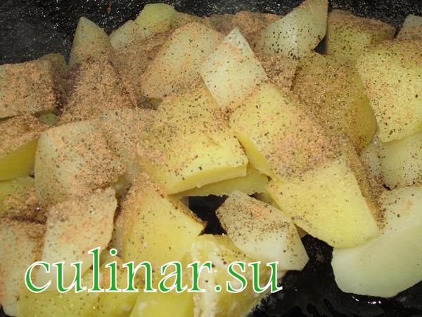 Картошка по-французский