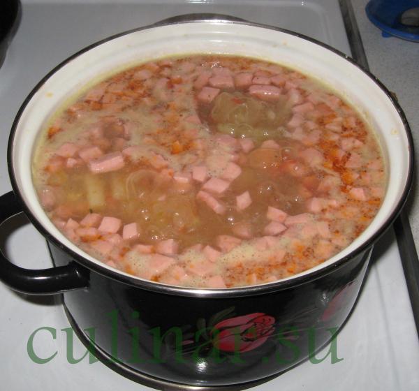 Суп: на скорую руку