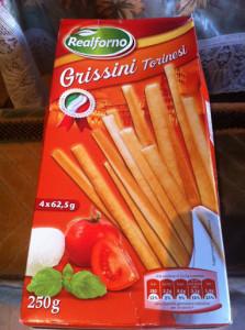 Итальянские хлебные палочки – история и приготовление.