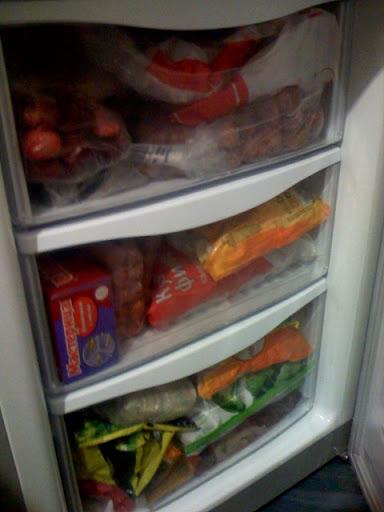 Холодильник для хранения продуктов
