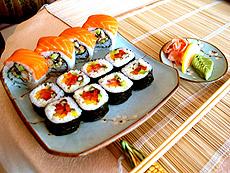 Умеете ли вы есть суши