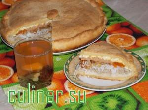 Татарский башкирский пирог