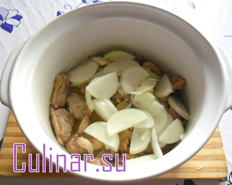 Тушёная капуста с утиным филе culinar.su