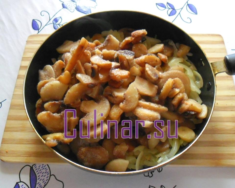 Запеканка с капустой и замороженными шампиньонами в духовке – culinar.su