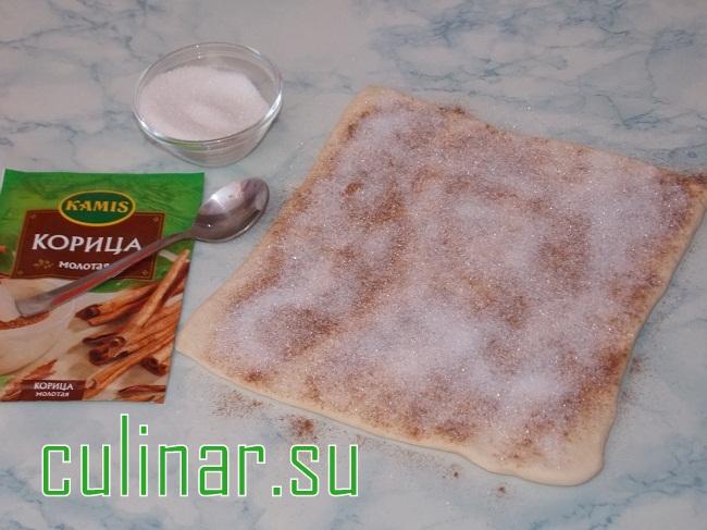 Слоеные палочки с корицей culinar.su